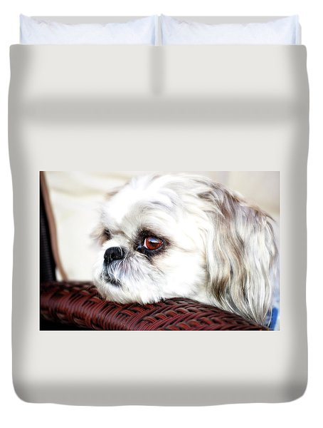 Lucy Duvet Cover by Molly McPherson