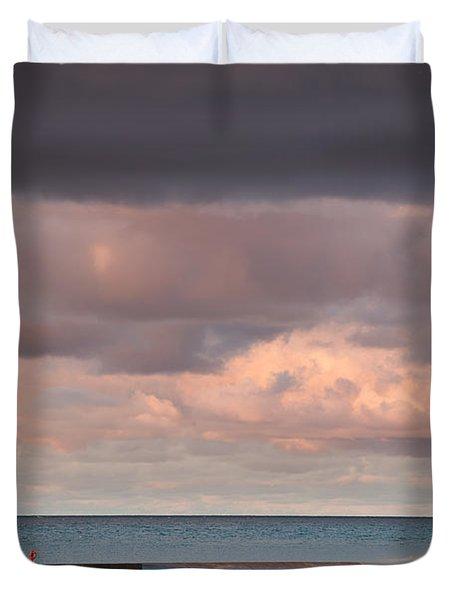 Ludington Duvet Cover by Sebastian Musial