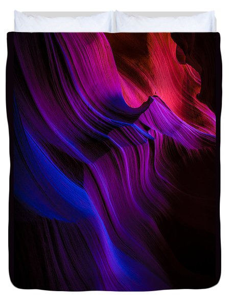 Luminary Peace Duvet Cover by Chad Dutson