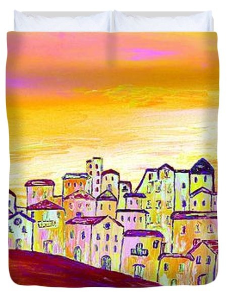 Luminescence Duvet Cover by Loredana Messina