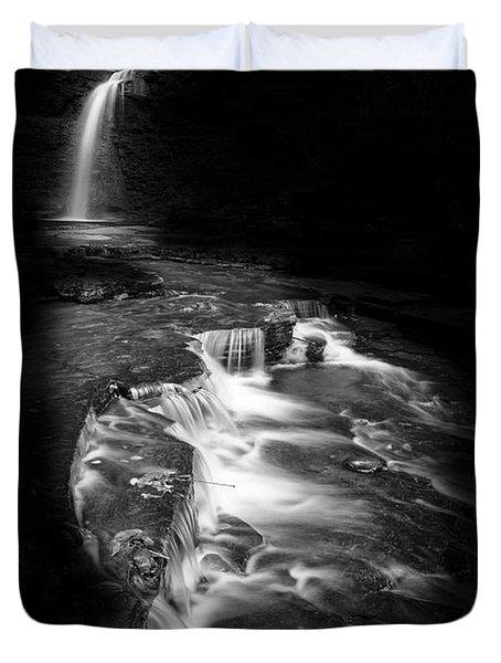Luminous Waters Vi Duvet Cover