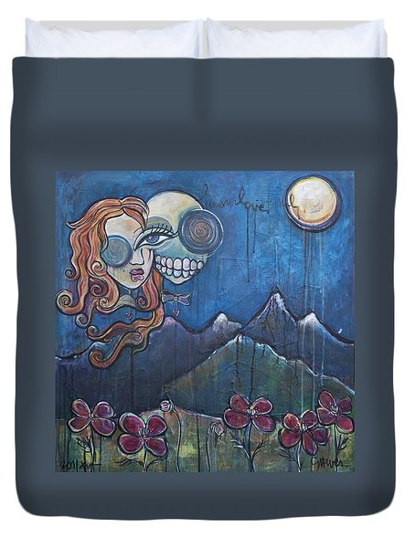 Luna Our Love Eternal Duvet Cover