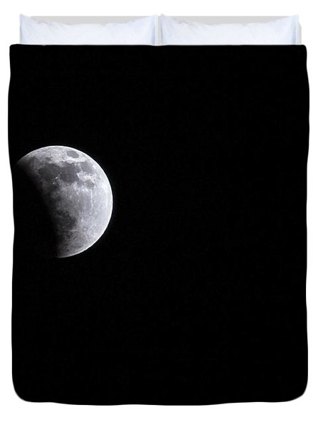 Lunar Night By Denise Dube Duvet Cover