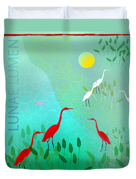 Lunae Lumen - Limited Edition Of 15 Duvet Cover