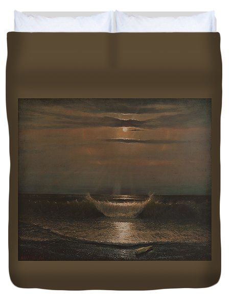 Lunar Apparition Duvet Cover by Blue Sky