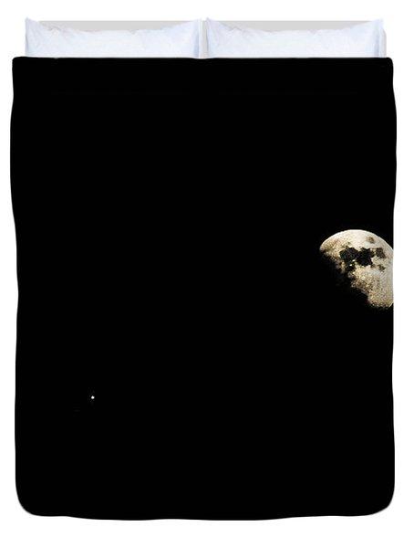 Lunar Fun Duvet Cover