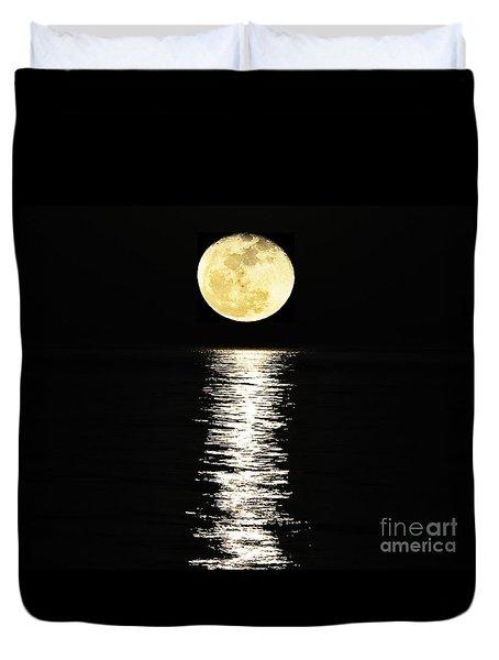 Lunar Lane 03 Duvet Cover by Al Powell Photography USA