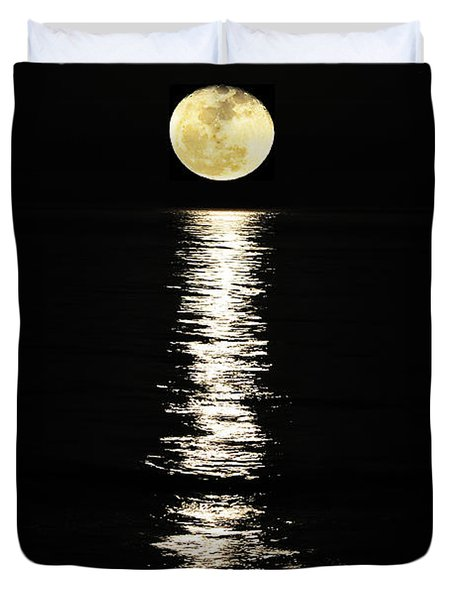 Lunar Lane Duvet Cover by Al Powell Photography USA