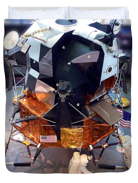 Lunar Module Duvet Cover