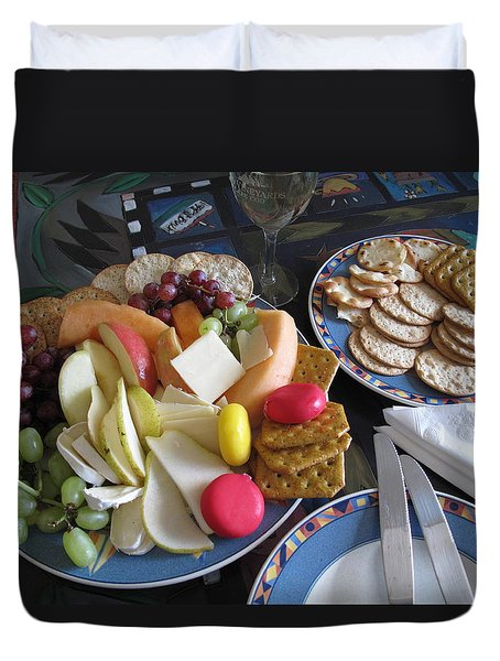 Lunch Duvet Cover