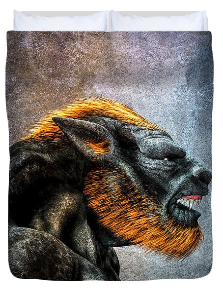 Lycan Duvet Cover by Bob Orsillo