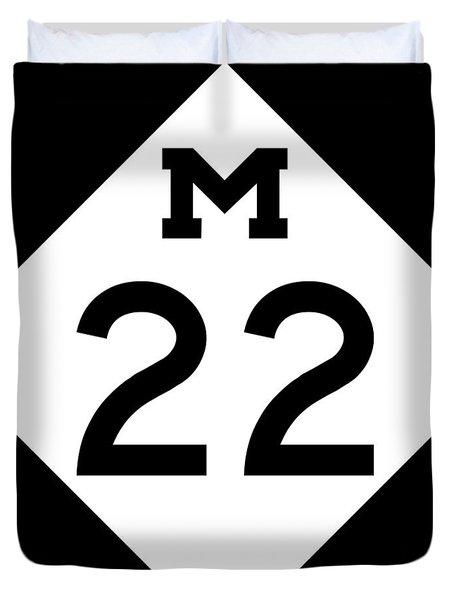 M 22 Duvet Cover