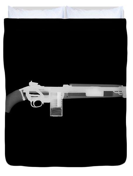 M1 Carbine Reverse Duvet Cover