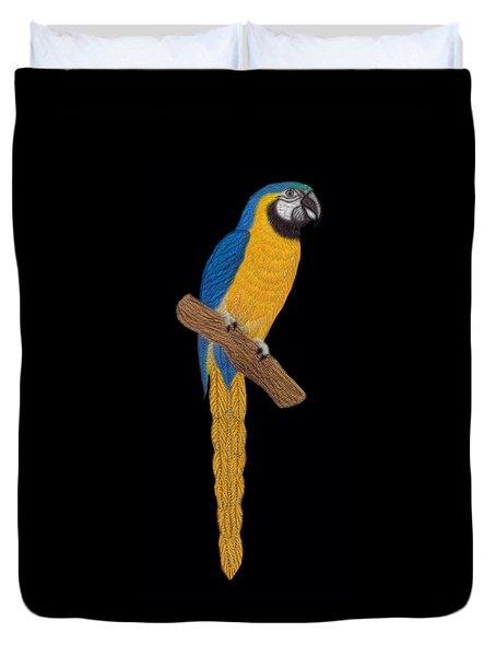Macaw Parrot Duvet Cover