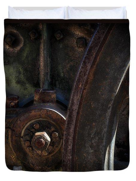 Mechanical Pareidolia  Duvet Cover
