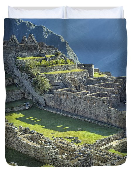 Machu Picchu Duvet Cover