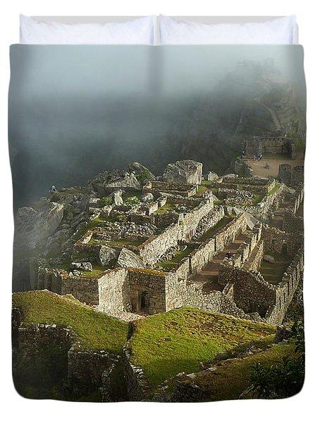 Machu Picchu Peru 2 Duvet Cover