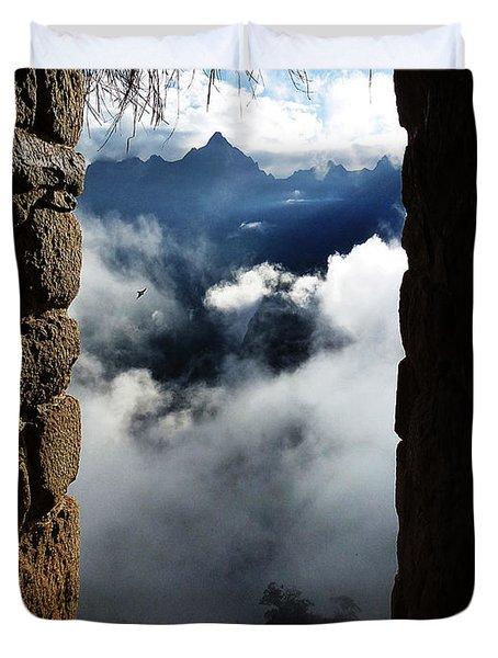 Machu Picchu Peru 4 Duvet Cover
