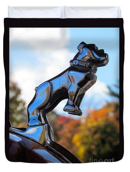 Mack Bulldog Duvet Cover