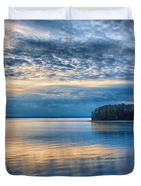 Mackerel Sunset Duvet Cover