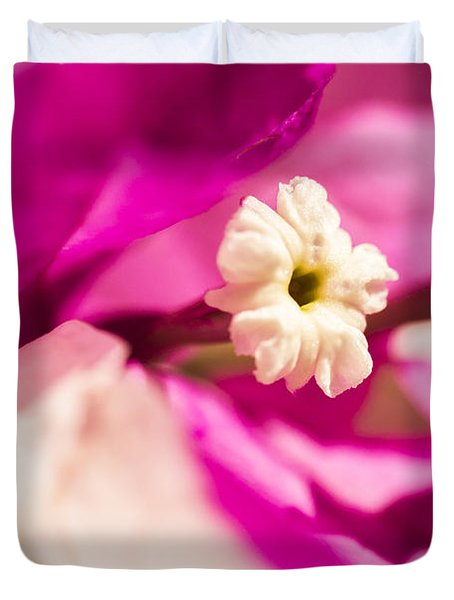 Macro Bougainvillea Bloom 2 Duvet Cover