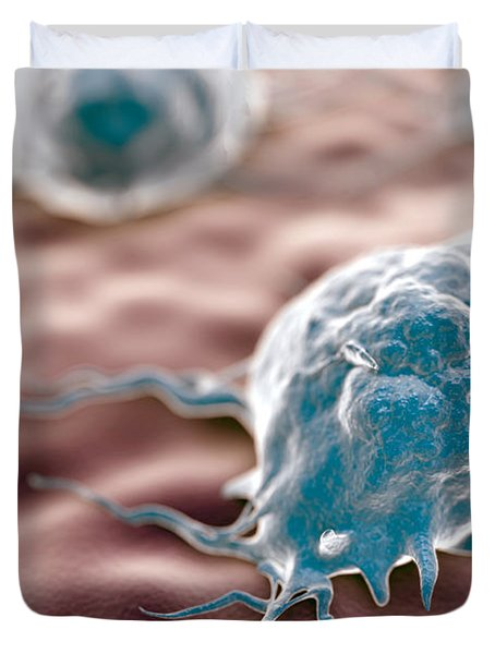 Macrophages Duvet Cover