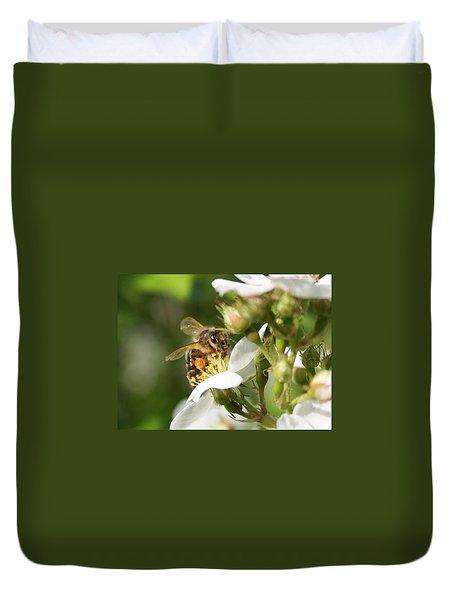 Mad Honeybee Duvet Cover