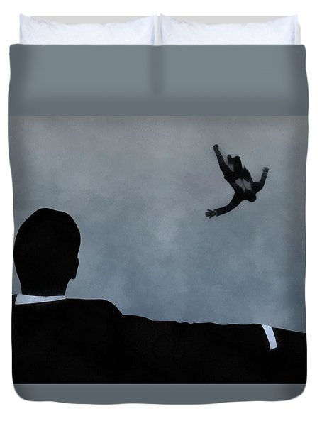 Mad Men Art Duvet Cover by Dan Sproul