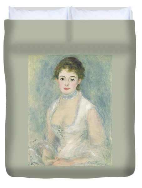 Madame Henriot Duvet Cover