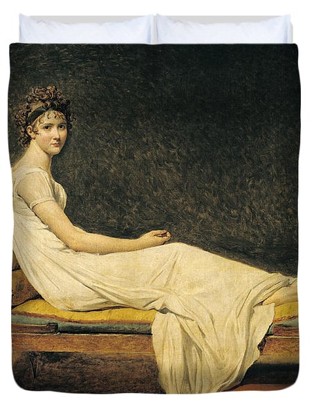 Madame Recamier Duvet Cover