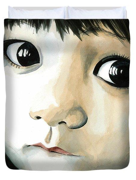 Madi's Eyes Duvet Cover