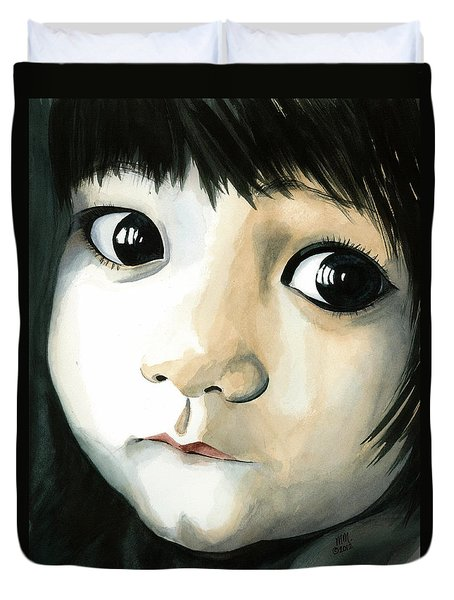 Madi's Eyes Duvet Cover