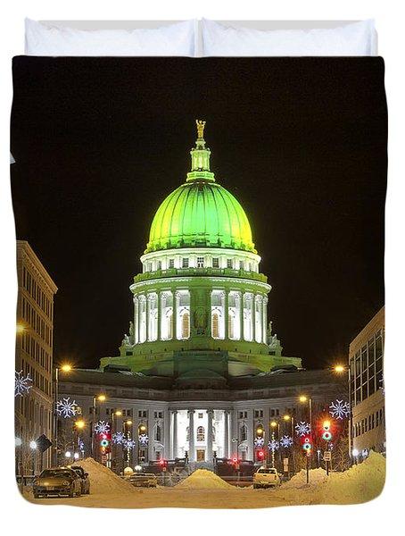 Madison Capitol Duvet Cover by Steven Ralser