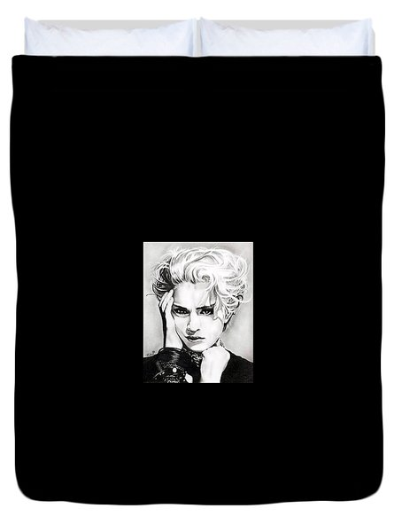 Madonna Duvet Cover by Fred Larucci