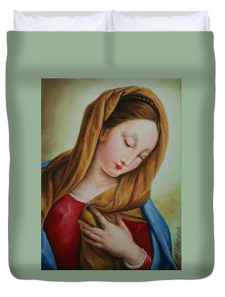 Madonna Duvet Cover by Marna Edwards Flavell