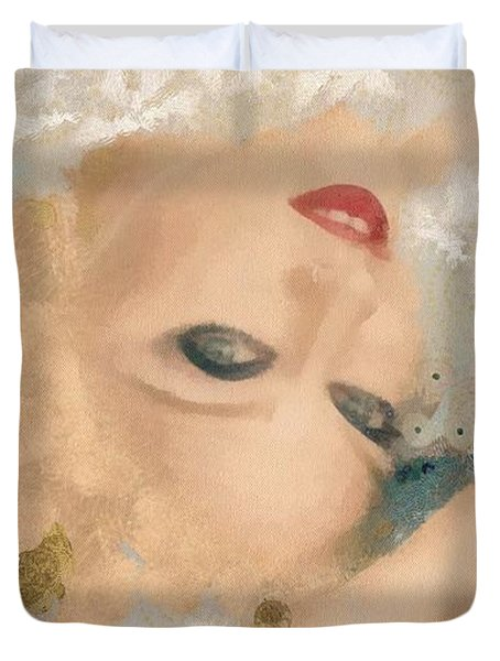 Madonna Wow Duvet Cover