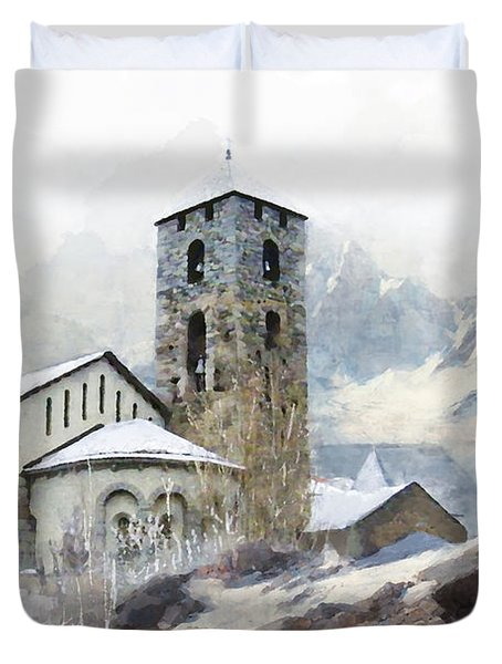 Madriu Perafita Claror Valley Duvet Cover by Catf