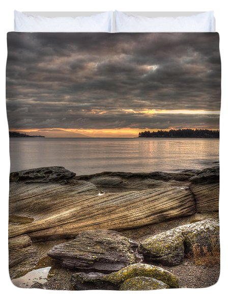 Madrona Point Duvet Cover by Randy Hall