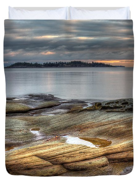 Madrona Sunrise Duvet Cover