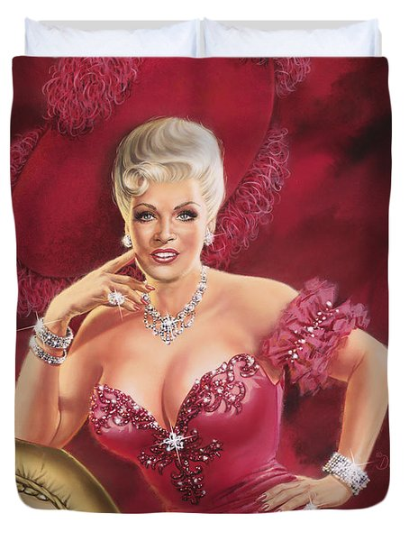 Mae West Duvet Cover