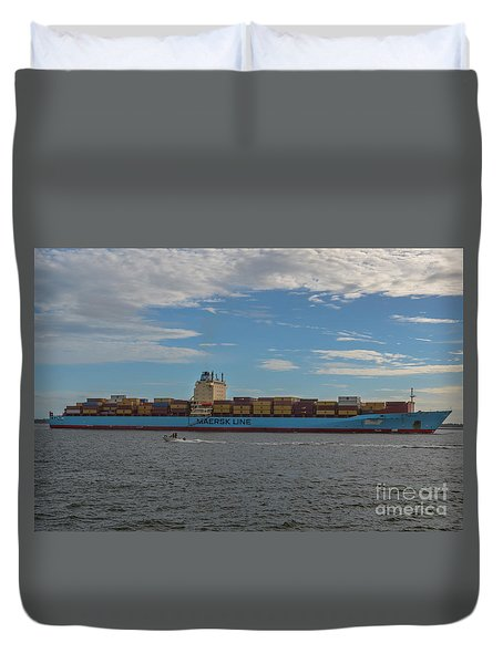 Maersk Line Beaumont Duvet Cover