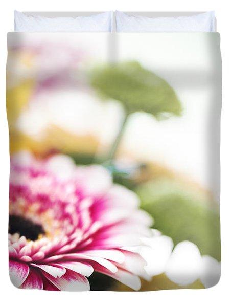 Magenta Splash Duvet Cover