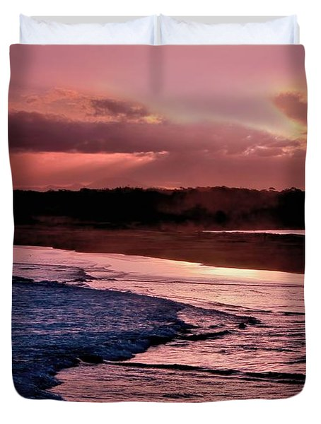 Magenta Twilight Duvet Cover by Wallaroo Images