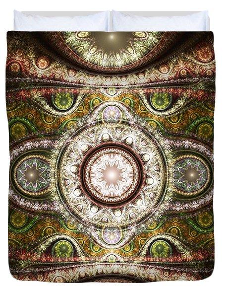 Magic Carpet Duvet Cover by Anastasiya Malakhova