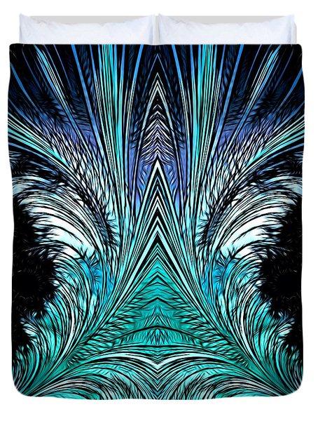 Magic Doors Duvet Cover
