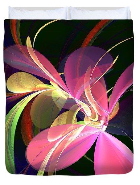 Magic Flower Duvet Cover by Anastasiya Malakhova