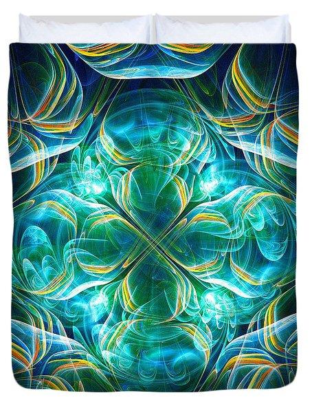 Magic Mark Duvet Cover