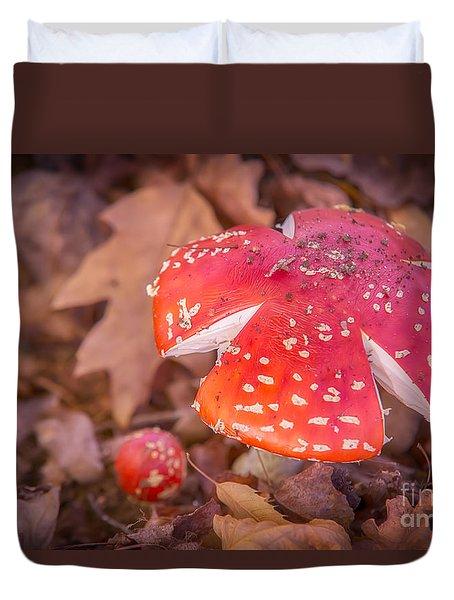 Magic Mushroom Duvet Cover