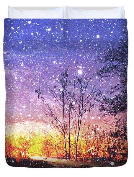 Magic Of Maine Duvet Cover