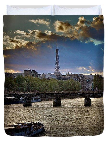 Magic Paris Duvet Cover